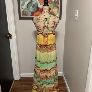 Lane Bryant Dresses - Super Cute Lane Bryant Aztec Tie Dye Maxi Dress❣️